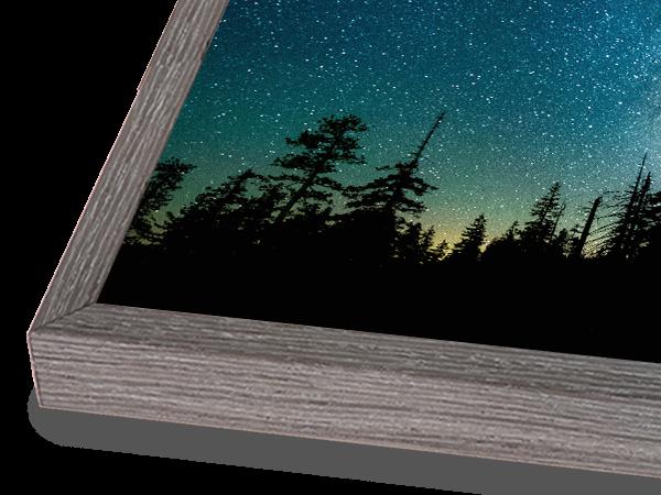 Modern Box Natural Dusk Frame