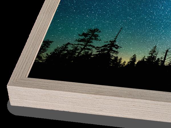 Modern Box Natural Fog Frame