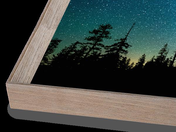 MidCentury Modern Oak Frame