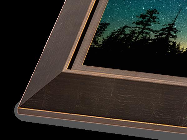 Bronze Reverse Gallery Series Frame