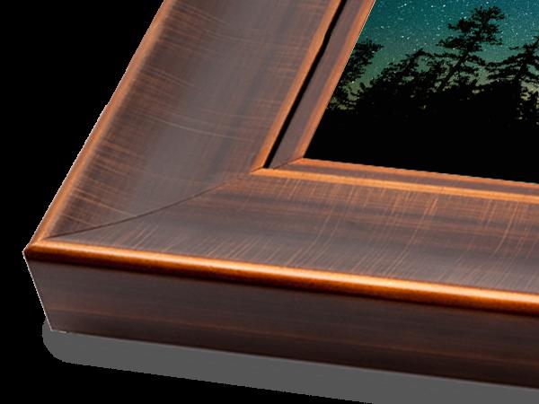 Bronze Scoop Wood Gallery Series Frame