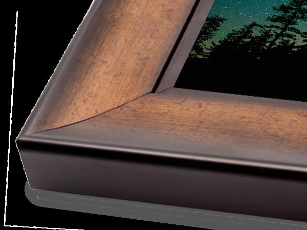 Gold Scoop Wood Gallery Series Frame