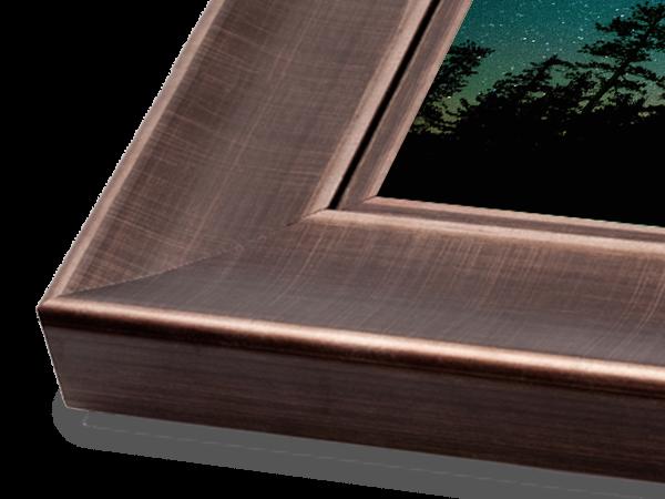 Pewter Scoop Wood Gallery Series Frame