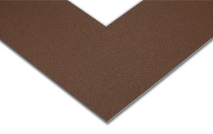 Chocolate Brown Mat