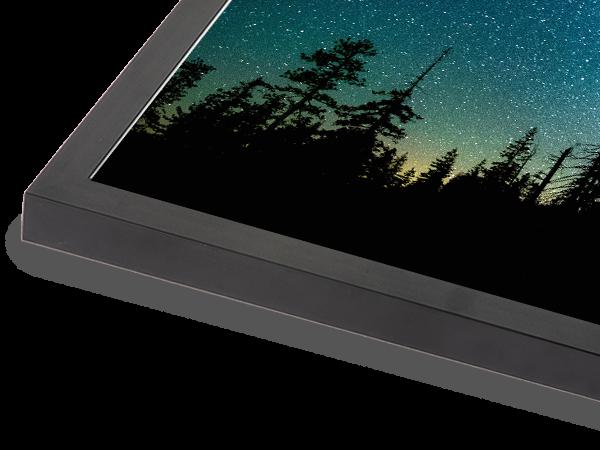 Metal Box Black Frame