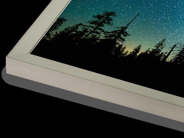 Metal Box LightPewter Frame