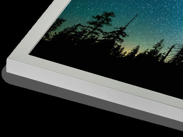 Metal Box Silver Frame