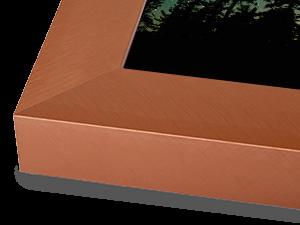 Wide Copper Aluminum Metal Frame