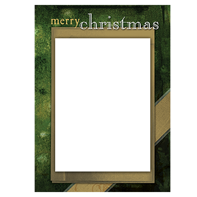 Holiday Flat or Folded Cards Design 004