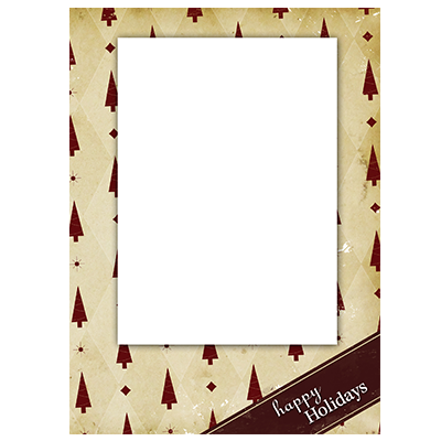 Holiday Flat or Folded Cards Design 006