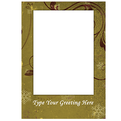 Holiday Flat or Folded Cards Design 008