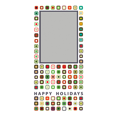 Holiday Flat or Folded Cards Design 012