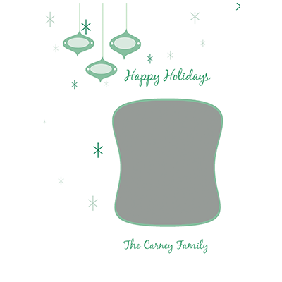 Holiday Flat or Folded Cards Design 013
