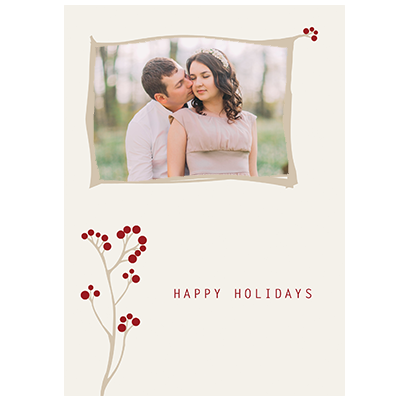 Holiday Flat or Folded Cards Design 014