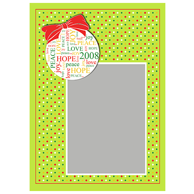 Holiday Flat or Folded Cards Design 018