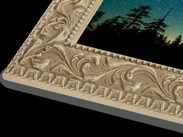 Antique White Ornate Series Frame