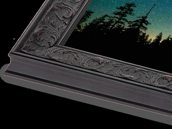 French Large Black Ornate Series Frame
