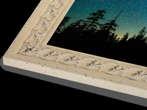Swedish White Ornate Series Frame