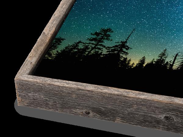 Silver Slim Float Frame