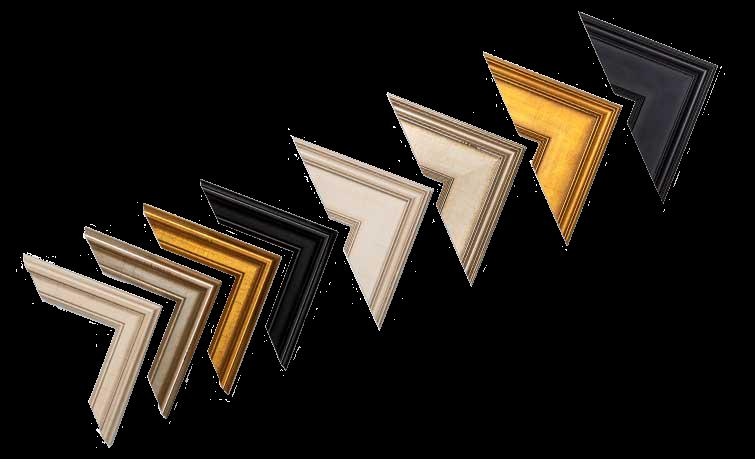 Framed Print Americana Frame Corner Set