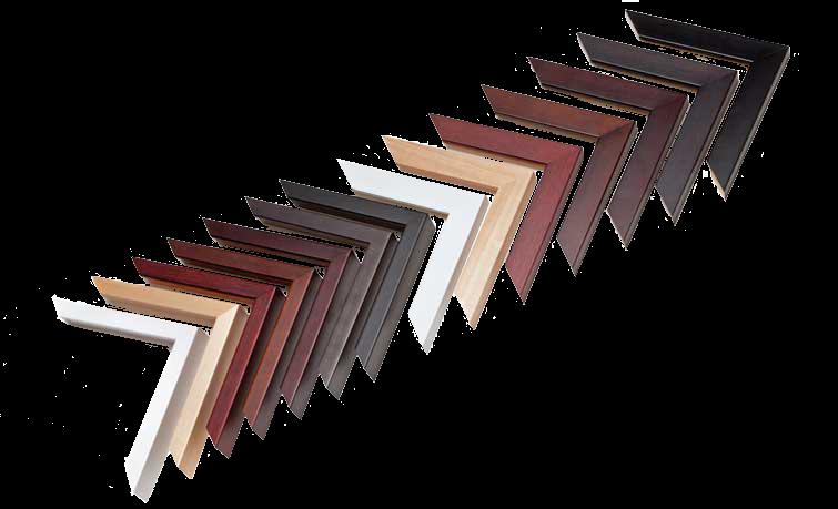 Framed Print Basic Wood Frame Corner Set
