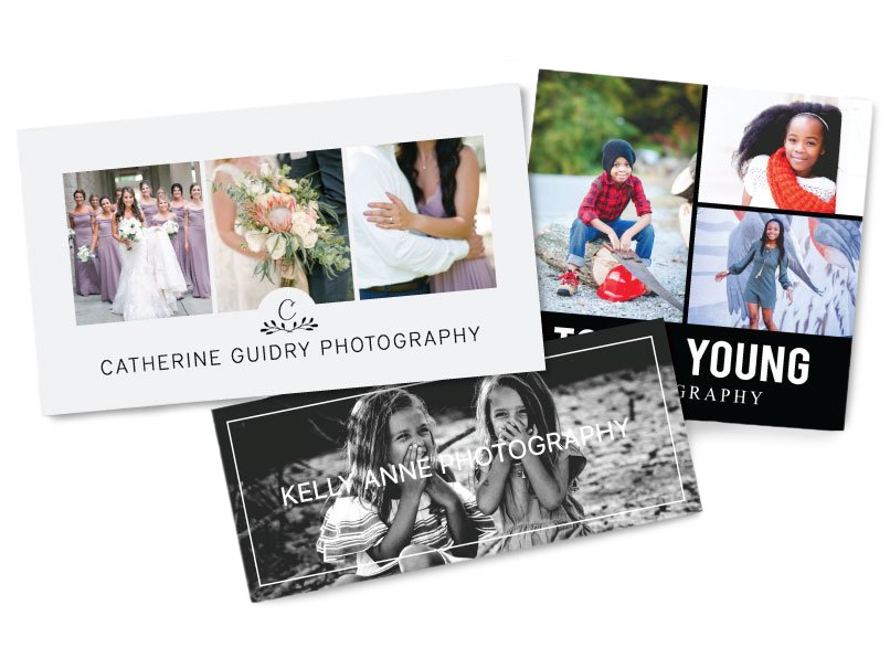 Photographer Business Cards 3 Sizes