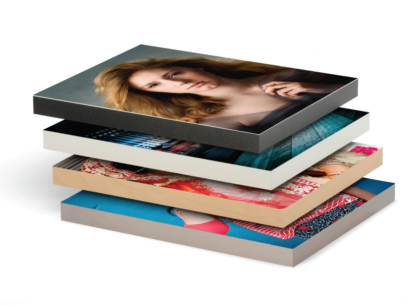 Senior Portraits Printed Mounted on Standout Mounts Durable & Lightweight