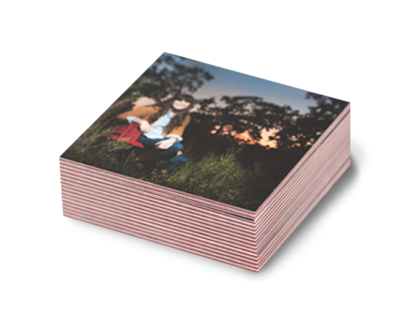 Senior Photo Photographer Business card Printed on ColorTHICK