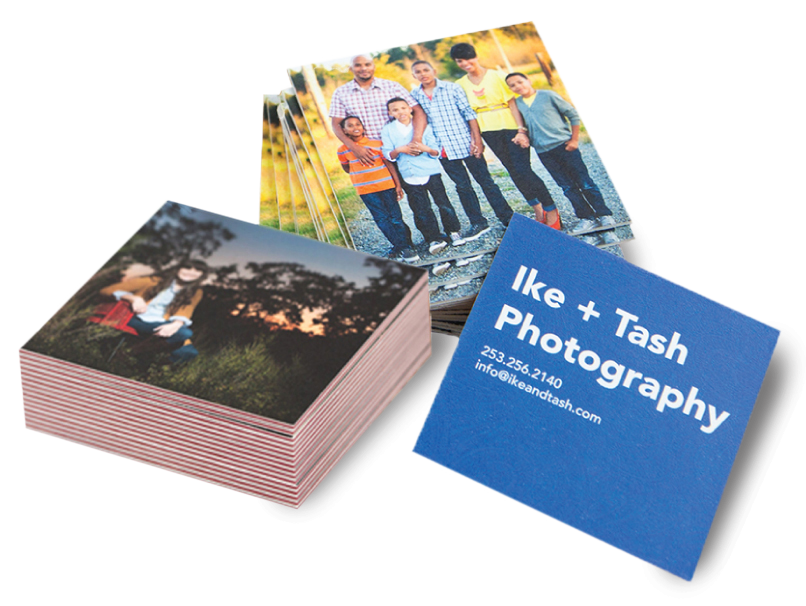 Photographer LOFT Extra Thick & ColorTHICK Business Cards