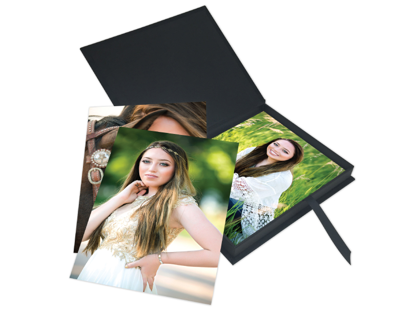 Senior Girl Folio Prints & Custom Folio Image Box