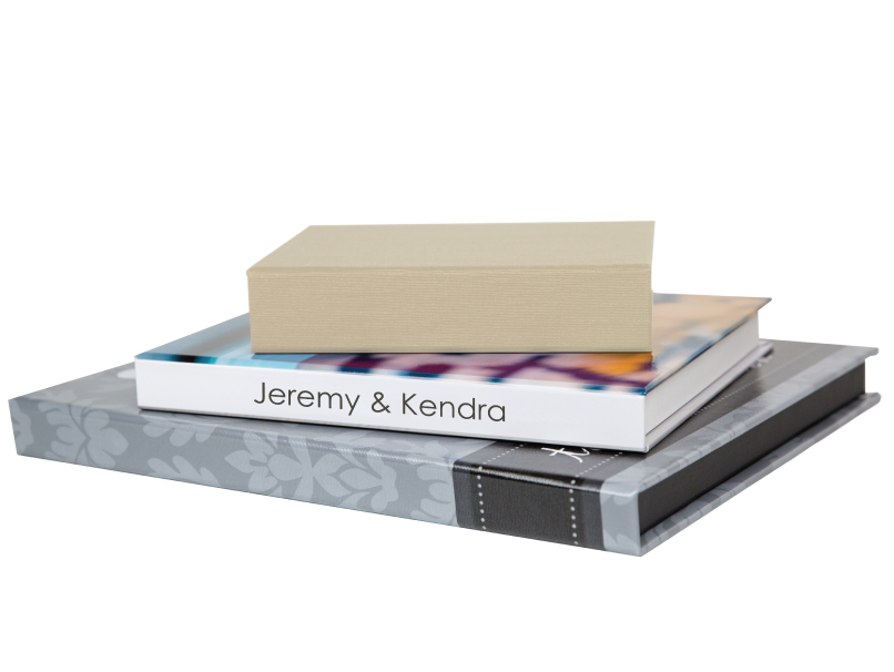 Fabric & Photo Boxes in 3 Folio Image Box Sizes
