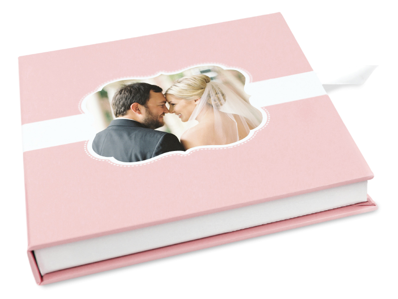 Wedding Portraits in Custom Folio Image Box