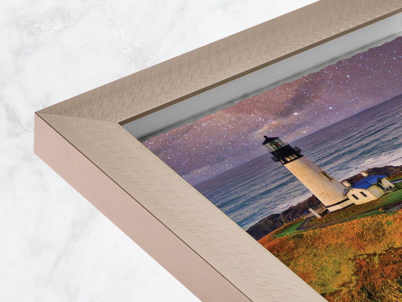 Framed Fine Art Deckled Edge Print Frames