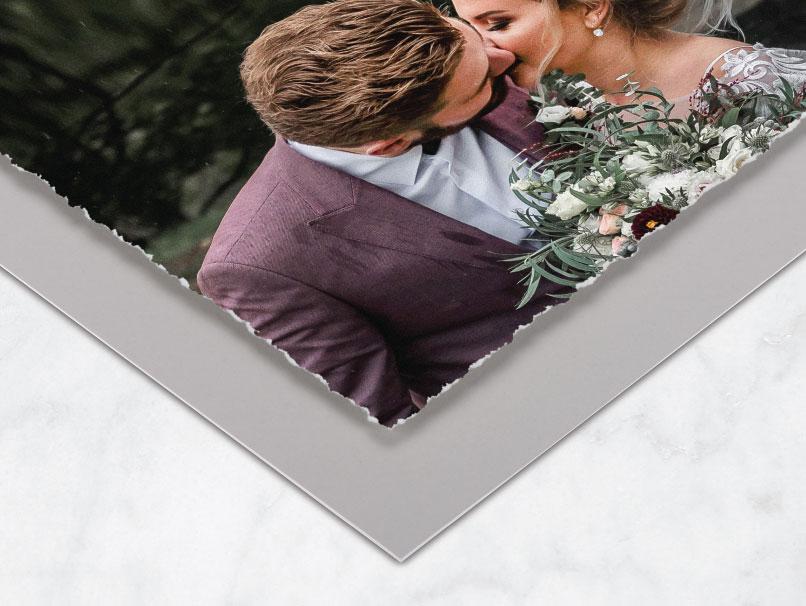 Framed Fine Art Deckled Print Mats