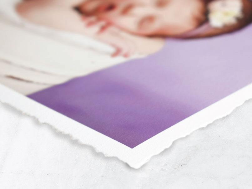 Framed Fine Art Deckled Edge Print