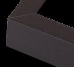 Black Aluminum Metal Frame