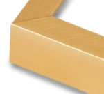 Gold Aluminum Metal Frame