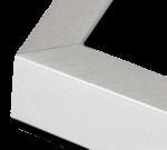Silver Aluminum Metal Frame