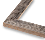 1.5 Natural Barnwood Frame