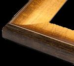 Gold Modern Wood Rustic & Modern Frame