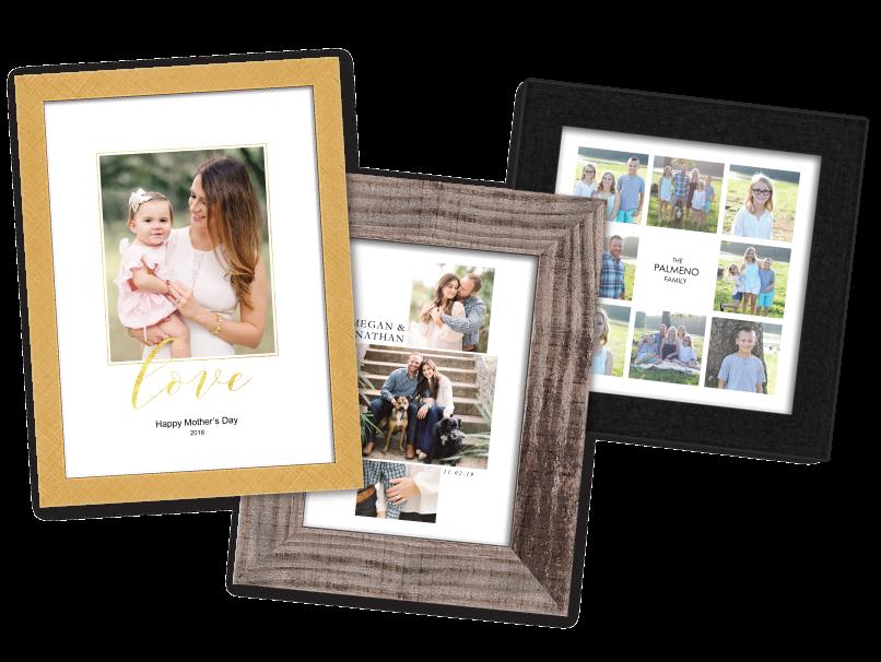 Framed Composite Collage Prints
