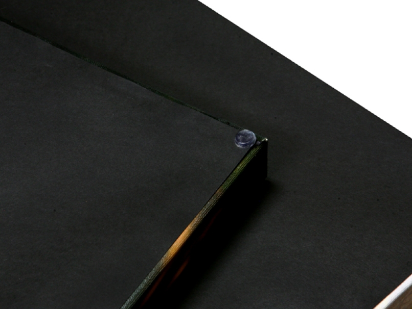Black Paper Backing