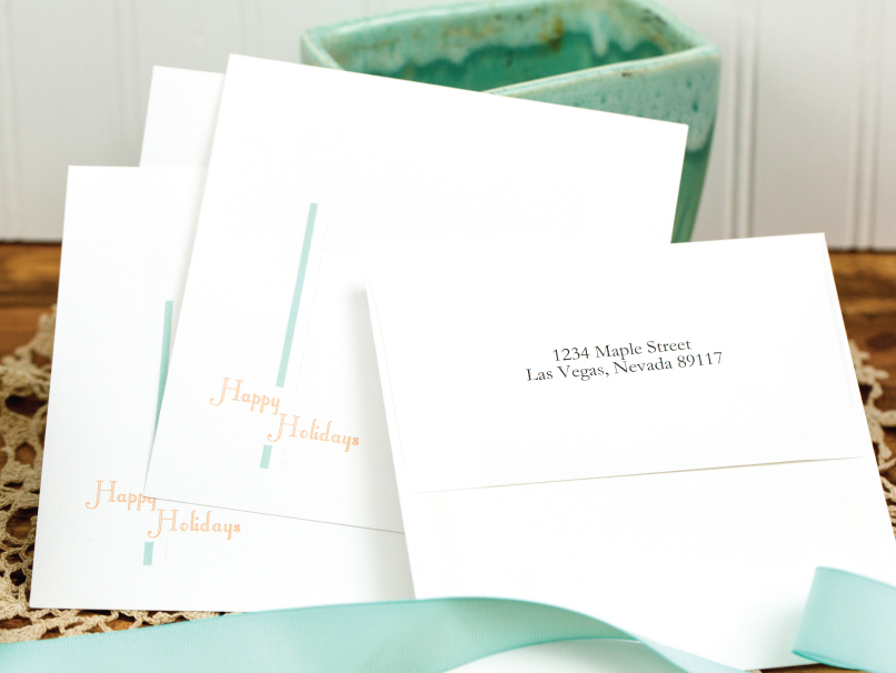 Front Design or Back Address Envelope Printing