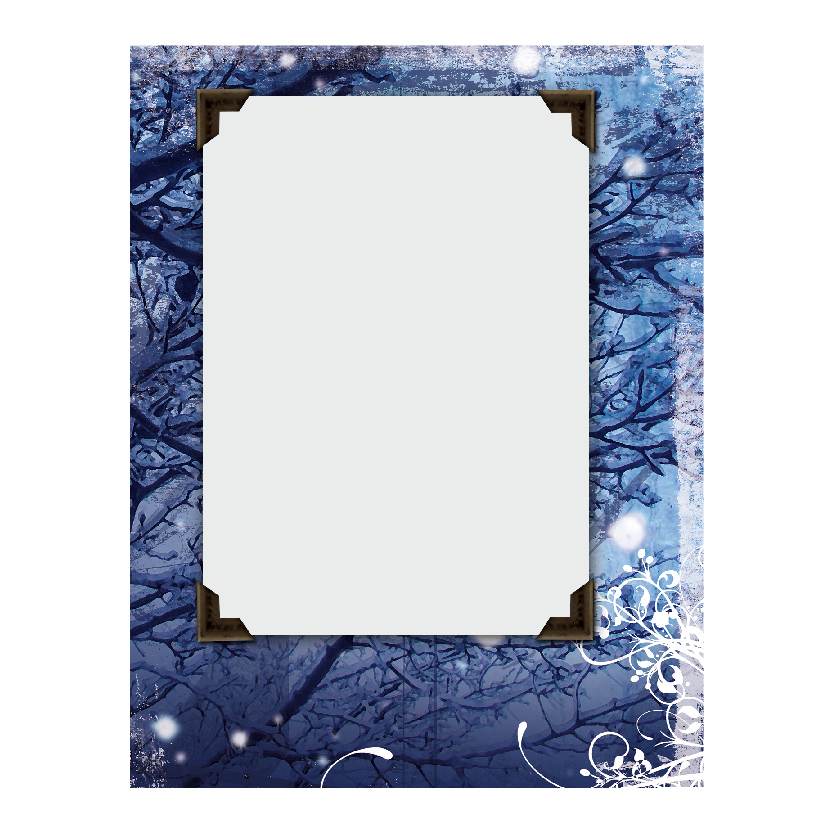 Holiday Flat or Folded Cards Design 001
