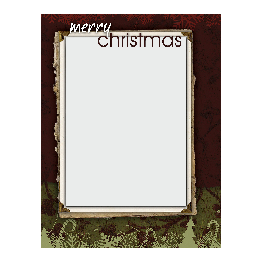 Holiday Flat or Folded Cards Design 005