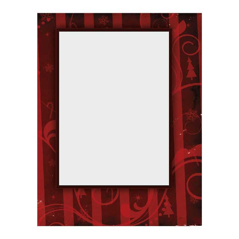 Holiday Flat or Folded Cards Design 007