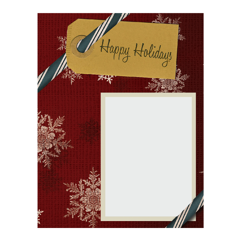 Holiday Flat or Folded Cards Design 017