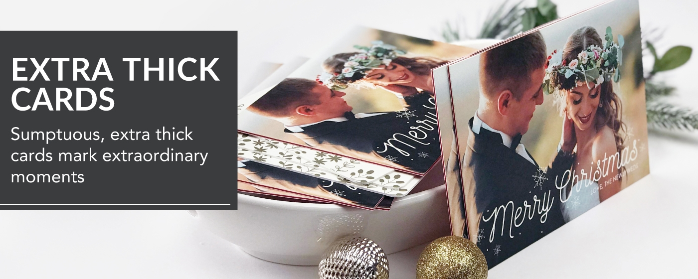 LOFT Extra Thick & ColorTHICK Christmas Cards