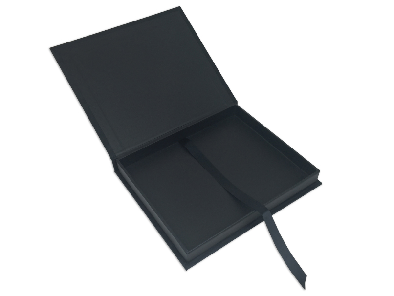 Folio Image Box Inside Dimensions Black Lining & Pull Ribbon