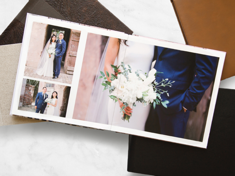 Wedding Portraits Album Page Layouts